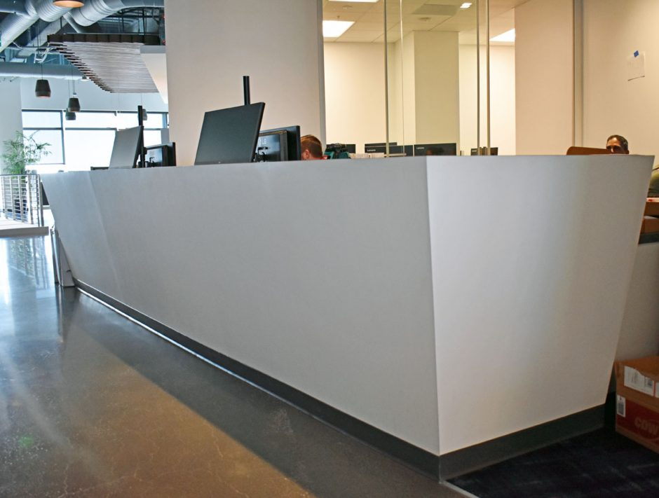The tech desk is located on the fourth floor.