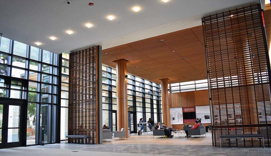 Welcoming Pavilion Inside David & Joan Traitel Building
