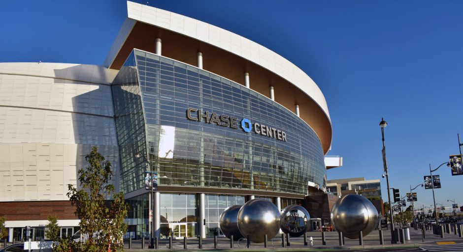 The Chase Center is home to the Golden State Warriors.